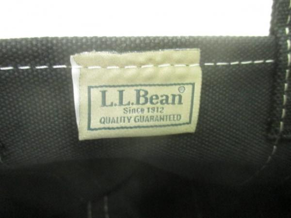 L.L.Bean(エルエルビーン) トートバッグ 黒×白 キャンバス