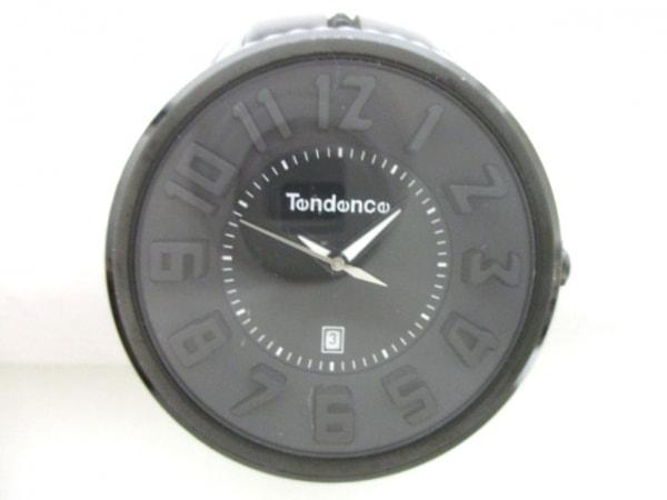 TENDENCE(テンデンス) 腕時計 O04T メンズ 黒