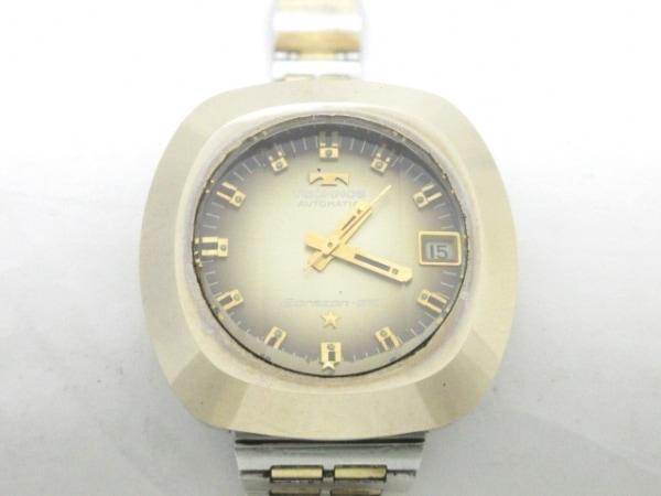 TECHNOS(テクノス) 腕時計 ボラゾンG-VI - ボーイズ ゴールド×ダークブラウン