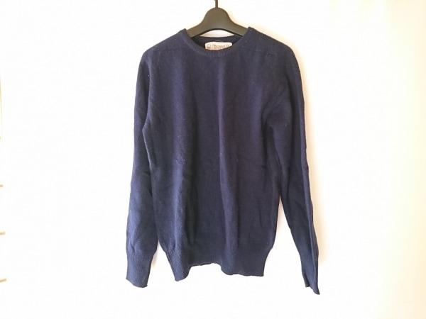 Inverallan(インバーアラン) 長袖セーター メンズ ネイビー