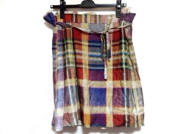 ヴィヴィアンウエストウッドアングロマニア ミニスカート サイズ40 M レディース美品
