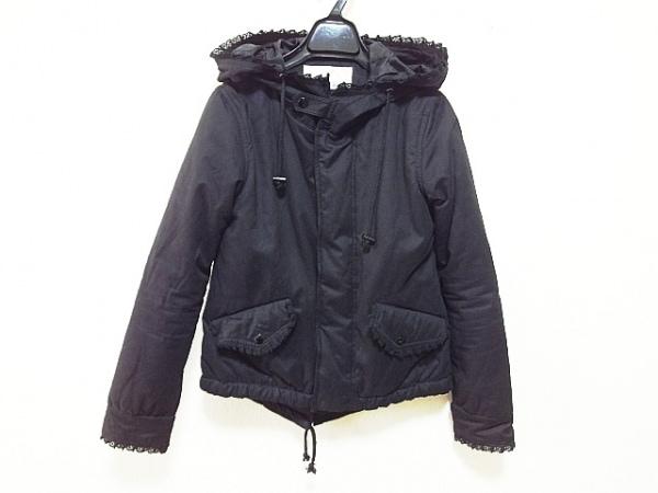 ninamew(ニーナミュウ) ダウンジャケット サイズF レディース 黒 冬物