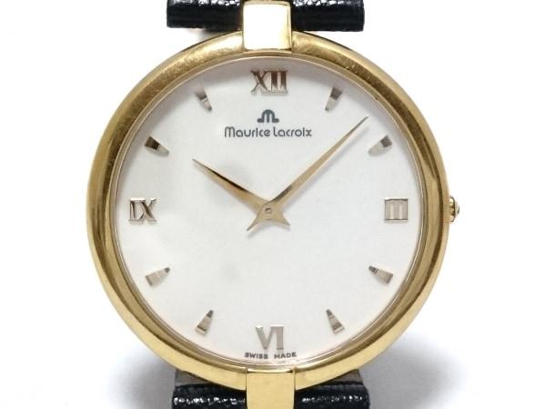 MauriceLacroix(モーリスラクロア) 腕時計 - レディース リザードベルト アイボリー
