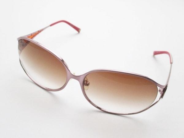 トミーガール サングラス TH-8016JA ブラウン×ピンク スター プラスチック×金属素材