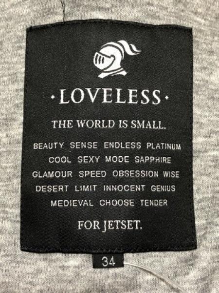 LOVELESS(ラブレス) ベスト サイズ34 S レディース美品  黒×グレー