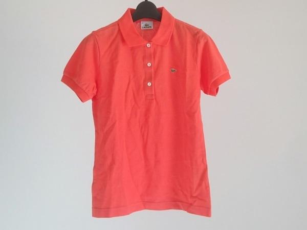 Lacoste(ラコステ) 半袖ポロシャツ サイズ40 M レディース美品  レッド