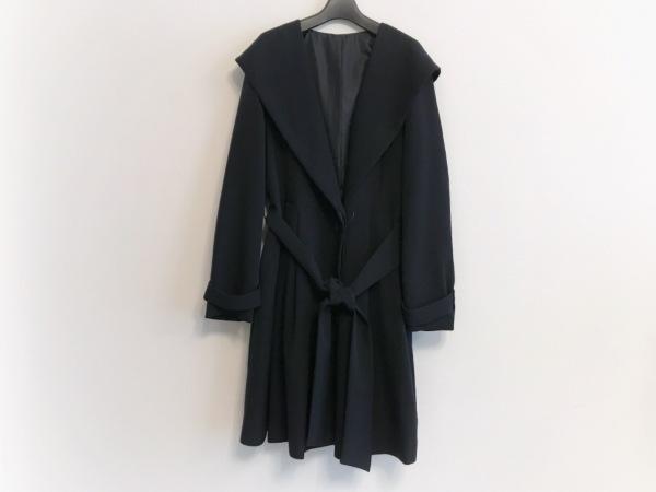 Tiaclasse(ティアクラッセ) コート サイズL レディース美品  ダークネイビー 春・秋物