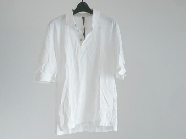 KAZUYUKI KUMAGAI(カズユキクマガイ) 半袖ポロシャツ メンズ美品  白