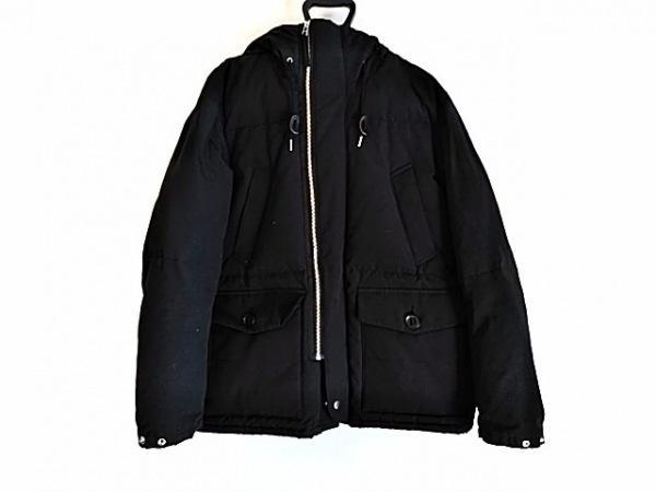 coen(コーエン) ダウンコート サイズL レディース美品  黒 冬物/DAILY CLOTHING