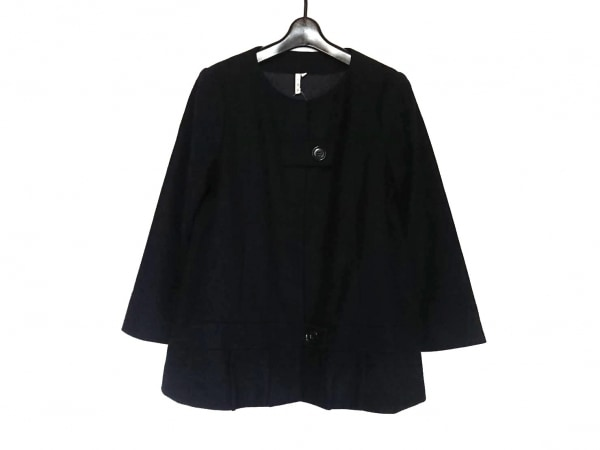 IRO(イロ) ジャケット サイズ1 S レディース美品  ダークネイビー 春・秋物