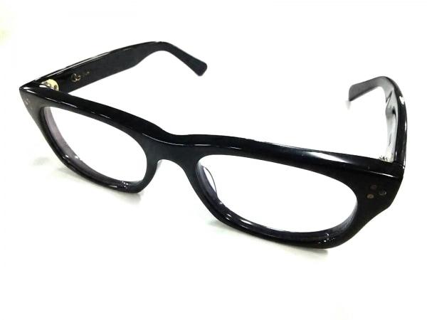 オリバーゴールドスミス メガネ VICE CONSUL 20-145 クリア×黒 度入り プラスチック