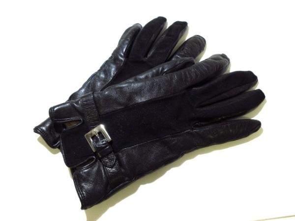 PIUMELLI(ピュメリ) 手袋 レディース 黒 レザー