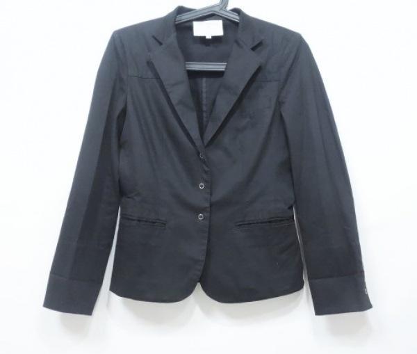 ボディドレッシング ジャケット サイズ7 S レディース美品  黒 肩パッド