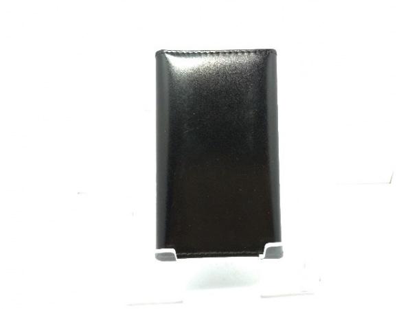 DAKS(ダックス) キーケース 黒 6連フック レザー