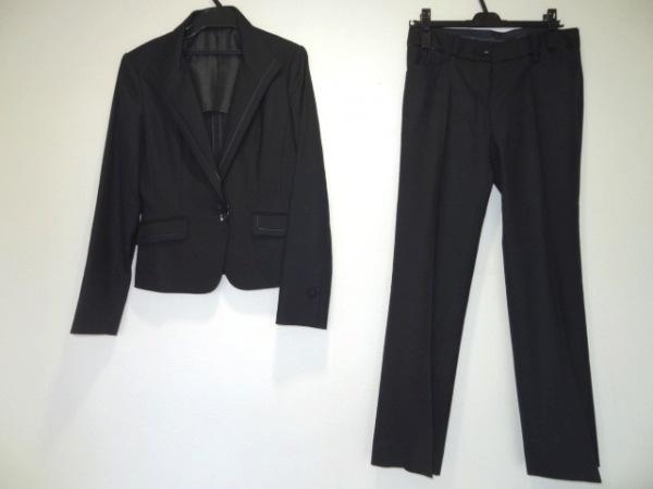 ru(アールユー) レディースパンツスーツ サイズ05 XS レディース 黒