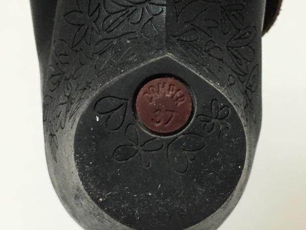 CAMPER(カンペール) パンプス 37 レディース 黒 レザー×ラバー