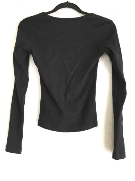 agnes b(アニエスベー) 長袖カットソー サイズ1 S レディース美品  黒