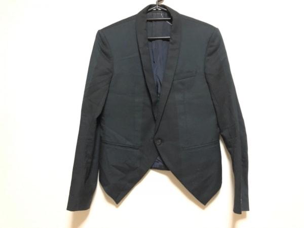 ラッドミュージシャン ジャケット サイズ44 L メンズ 黒 冬物/変形デザイン