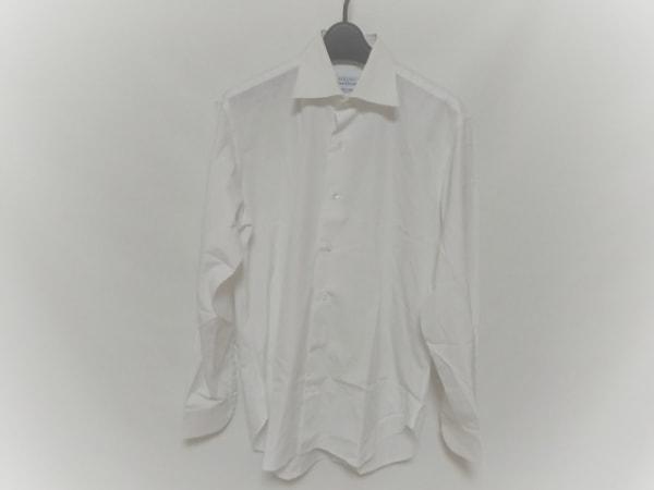 ORIAN(オリアン) 長袖シャツ サイズ40 M メンズ美品  白 per TOMORROWLAND