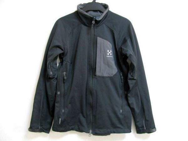 HAGLOFS(ホグロフス) ジャージ サイズXS レディース 黒×グレー
