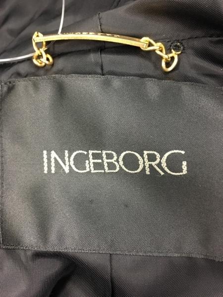INGEBORG(インゲボルグ) コート サイズS レディース 黒 冬物