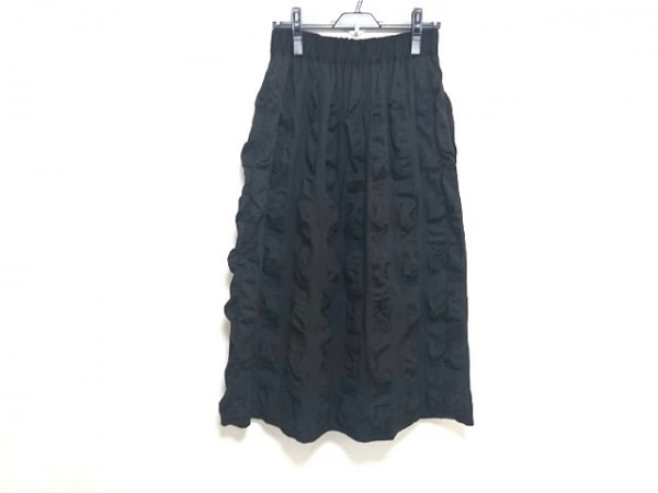 PLAIN PEOPLE(プレインピープル) ロングスカート サイズ3 L レディース新品同様  黒