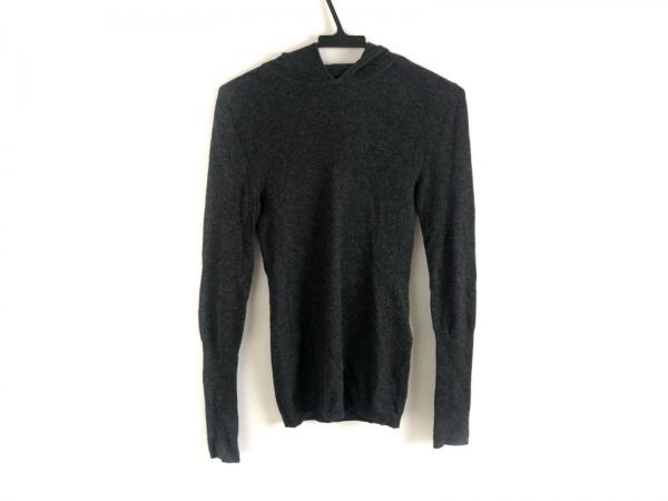 ケイトスペードサタデー 長袖セーター サイズM レディース美品  ダークグレー