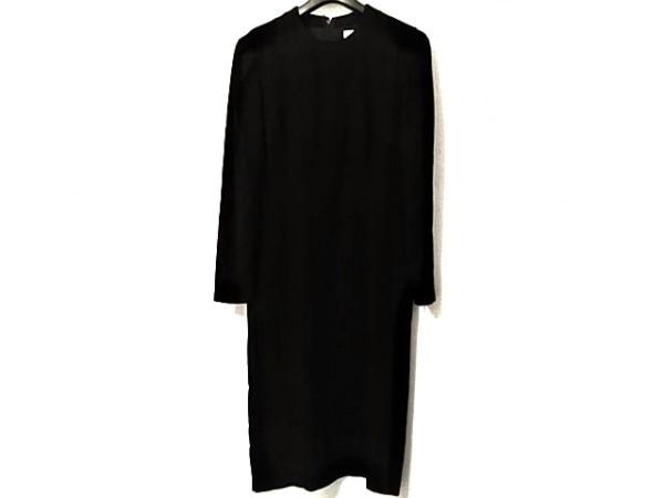 HANAE MORI(ハナエモリ) ワンピース サイズ9 M レディース美品  黒