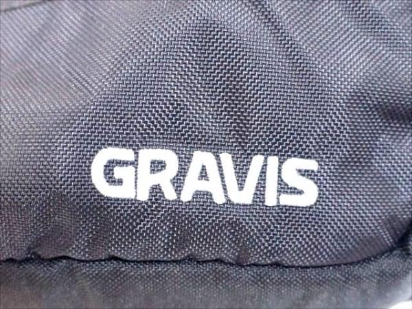 gravis(グラヴィス) ウエストポーチ 黒 ナイロン