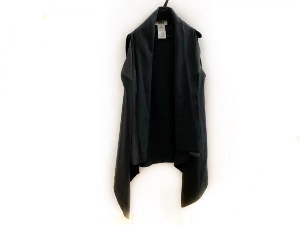 MM6(エムエムシックス) ベスト レディース ダークグレー×グレー 春・秋物/袖なし