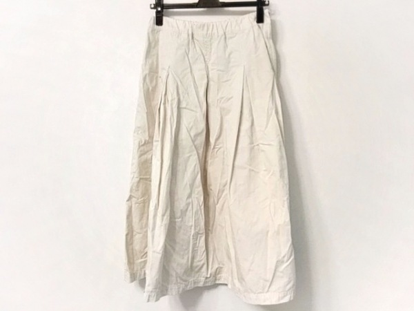 Plantation(プランテーション) ロングスカート サイズM レディース美品  アイボリー