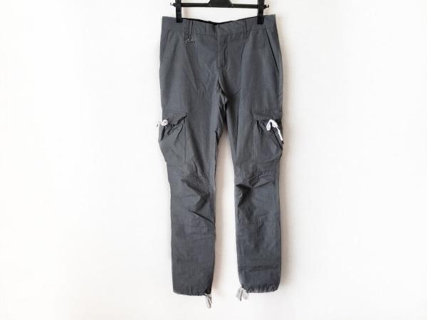 KRISVANASSCHE(クリスヴァンアッシュ) パンツ サイズ46 XL メンズ グレー×白