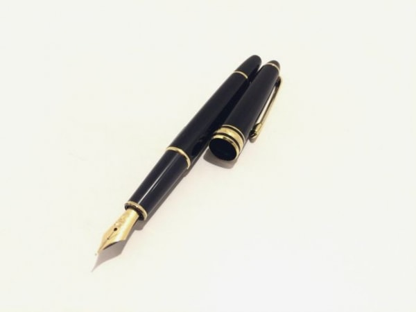 モンブラン 万年筆美品  マイスターシュティック 黒×ゴールド インクなし/ペン先14K