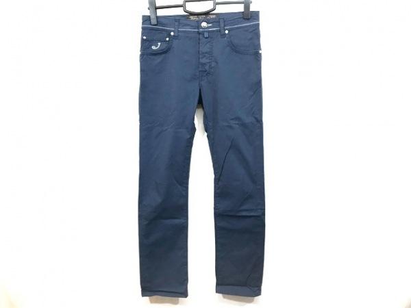 JACOB COHEN(ヤコブコーエン) パンツ サイズ29 メンズ ネイビー ボタンフライ