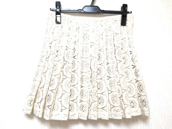 シーニューヨーク ミニスカート サイズ4 XL レディース美品  アイボリー