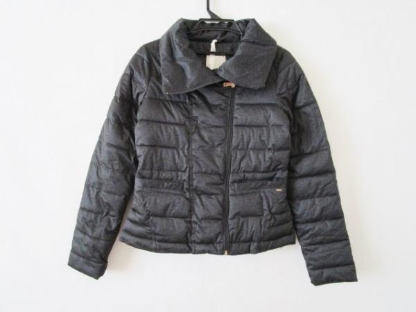 GAS(ガス) ダウンジャケット サイズ40 M レディース美品  ダークグレー 冬物