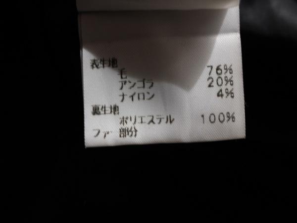 INTER PLANET(インタープラネット) コート サイズ38 M レディース 黒 冬物/ファー