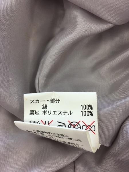 レストローズ ワンピース サイズ2 M レディース 黒×ベージュ×ボルドー ベロア/花柄