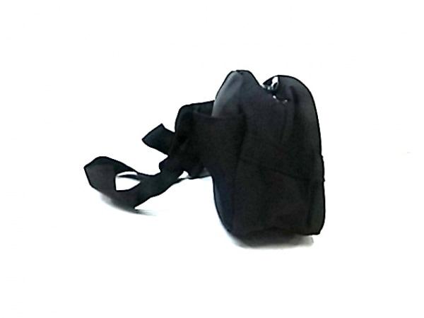 NIKE(ナイキ) ウエストポーチ美品  黒×白 ナイロン