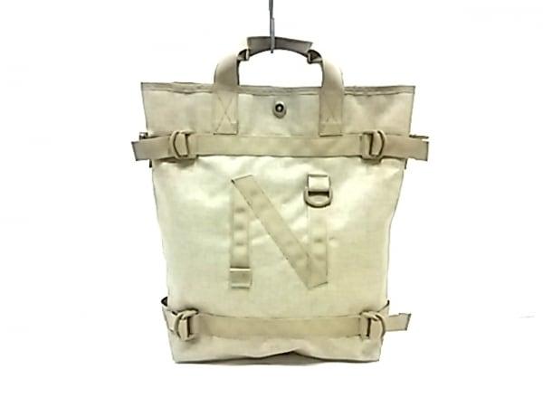 narifuri(ナリフリ) トートバッグ美品  ダークグリーン 化学繊維
