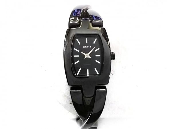 DKNY(ダナキャラン) 腕時計美品  NY-8729 レディース 黒