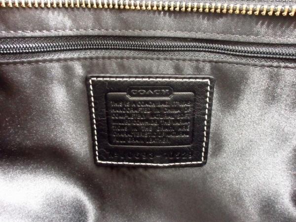 コーチ ショルダーバッグ美品  ハンプトンズレザーラージキャリーオール 10529 黒