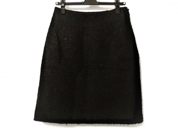 ラルフローレンコレクション パープルレーベル スカート サイズ8 M レディース 黒