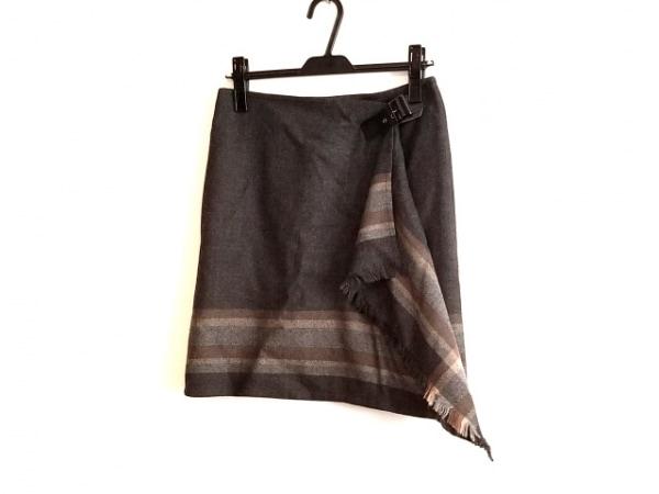23区(ニジュウサンク) 巻きスカート サイズ38 M レディース美品