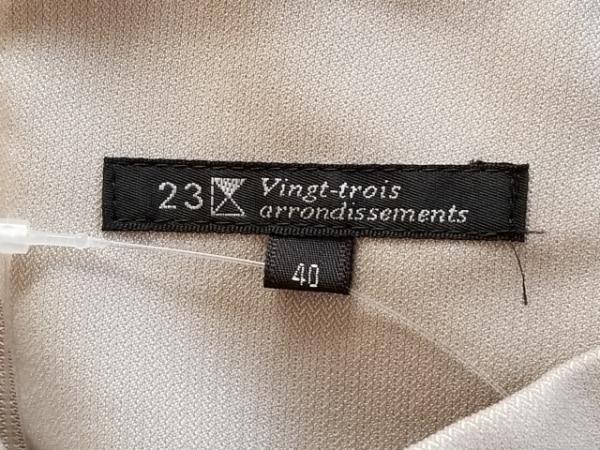 23区(ニジュウサンク) スカート サイズ40 M レディース美品  グレー