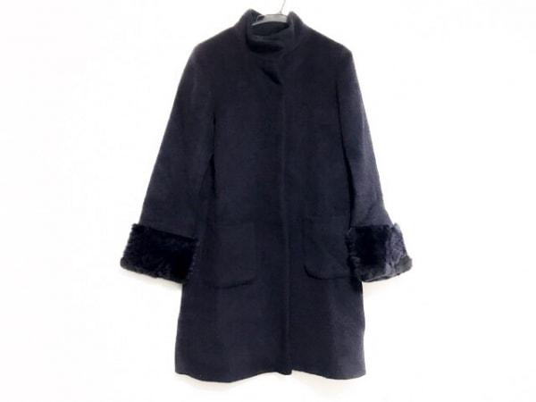 Gabardine K.T(ギャバジンケーティ) コート サイズ9 M レディース美品  ネイビー