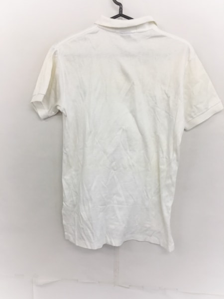 POLObyRalphLauren(ポロラルフローレン) 半袖ポロシャツ サイズS メンズ美品  白