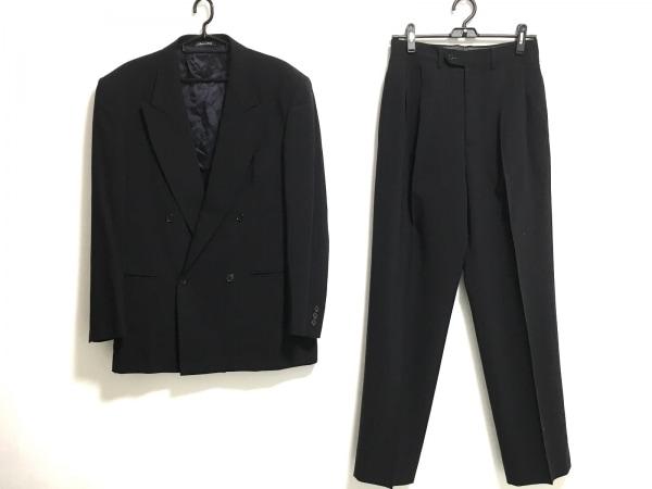 STUDIO FERRE(スタジオ フェレ) ダブルスーツ サイズ48 XL メンズ 黒