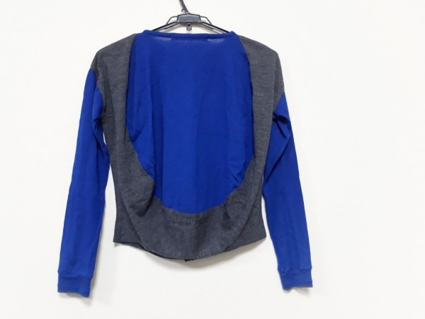 sakayori(サカヨリ) カーディガン レディース美品  ブルー×グレー