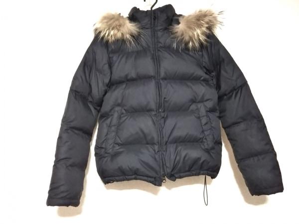 Framework(フレームワーク) ダウンジャケット サイズ38 M レディース 黒 冬物/ファー
